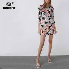 <b>ROHOPO</b> Double Layer <b>Woman</b> Lace Up Cuff Peplum Midi Dress V ...