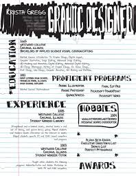 artistic and creative résumés   webdesigner depot