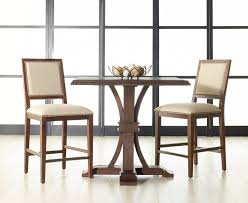 three piece dining set: dover  piece dining set in walnut  piece dining temperatura co