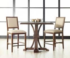 three piece dining set: dover  piece dining set in walnut  piece dining temperatura co