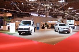 vw stand shot at the cv show commercial vehicle dealer vw stand shot at the cv show 2016