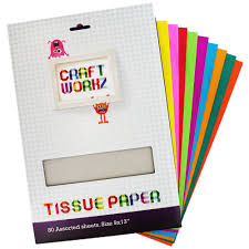 tissue paper buy cheap tissue paper online at the works assorted coloured tissue paper 80 sheets