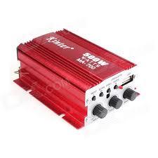 Kinrener MA700 12V 500W 2-Channel Bass / Treble Car Amplifier ...