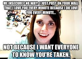 INSECURE FEMALE MEMES image memes at relatably.com via Relatably.com