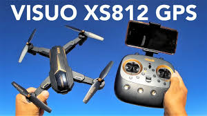 TIANQU <b>VISUO XS812 GPS 5G</b> WiFi FPV Foldable RC Quadcopter ...