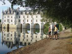 Kuvatulos pyöräilyyn Loiren laaksossa
