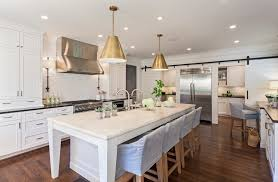 thomas o brien lighting kitchen traditional with dark wood floor double breakfast area lighting