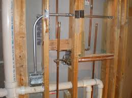 plumbing basement