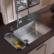 undermount kitchen sink stainless steel: vigo stainless steel undermount kitchen sink faucet combo set