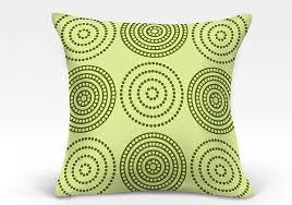 <b>Декоративная подушка Мбау-О</b> (зеленый) <b>ТомДом</b> недорого с ...