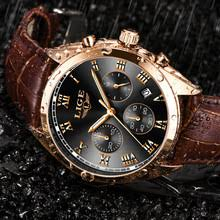 Best value <b>Lige Watch</b> for <b>Man</b> with Leather – Great deals on <b>Lige</b> ...