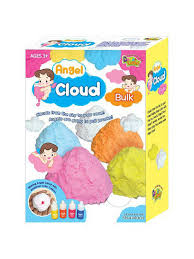 Окрашиваемая <b>масса для лепки Angel</b> Cloud 100 гр (синяя) Angel ...