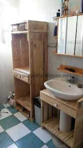 bathroom furniture made entirely from pallets 2 bathroom furniture pallets