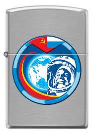 <b>Зажигалка Гагарин ZIPPO</b> 200 COSMONAUT купить оптом в Москве