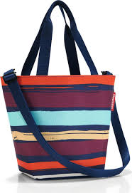 "<b>Сумка</b> женская <b>Reisenthel</b> ""<b>Shopper XS</b> Artist Stripes"", цвет: темно ..."