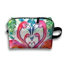 Flamingo <b>Portable Travel</b> Bag <b>Makeup Bag Toiletry Bag</b> Storage ...