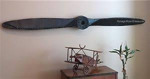 aircraft plane propeller canvas wall decor industrial rustic metal airplane aircraft propeller plane aviation wal