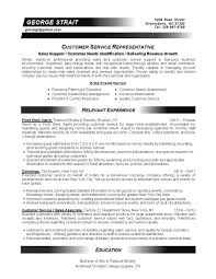 resume samples expert resumes customer representative