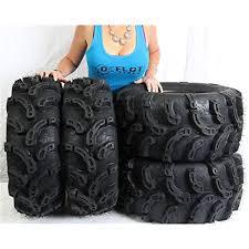 ocelot atv 26x9-12 & <b>26x12</b>-<b>12</b> ultra deep mud <b>p375</b> tires (4 pack)