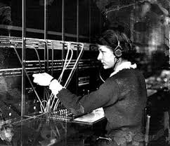 Image result for image of a telephone operator
