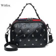 Vintage messenger bag handbags women bags designer cow ...