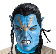 Foam Latex Jake Sully Avatar Mask. CODE: 68357 - Foam-_Latex-_Jake-_Sully-_Avatar_-Mask
