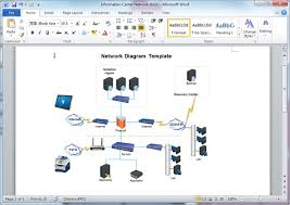 network diagram templates for wordword network diagram template