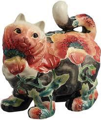<b>Фигурка декоративная Lefard Кошка</b>, 59-631, белый, 15 х 16 х 10 ...