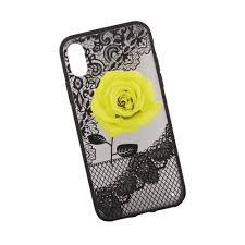 Купить <b>Чехол Liberty Project</b> Роза для Apple iPhone X желтый в ...