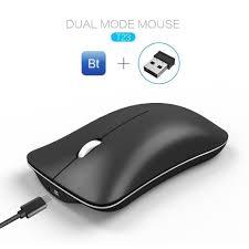 <b>BW</b>#A T23 2.4G Wireless Bluetooth Mouse <b>1600DPI</b> Silent Optical ...