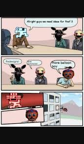 FNAF Hilarious Memes And Funny Stuff - More Balloon Boy - Wattpad via Relatably.com