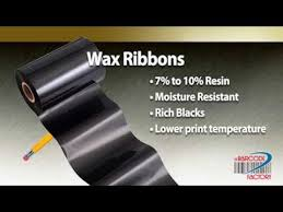 Thermal Ribbon Types - YouTube