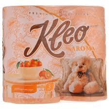 <b>Туалетная бумага</b> Мягкий знак <b>Kleo Aroma</b> 4 рулона