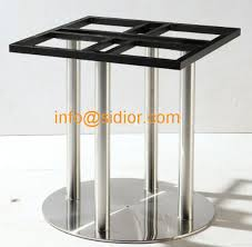 round dining table base: stainless steel table base round dining table leg desk furniture legs sd
