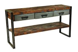 wood and iron furniture rectangle dark brown wooden coffee tables american retro style industrial furniture desk