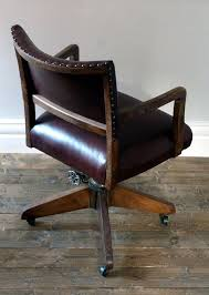 antique leather office chair. old office chairs antique leather desk chair furniture