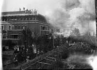 「1923年関東大震災時の帝国ホテル新館」の画像検索結果