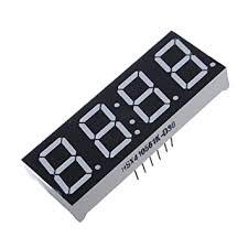 Buy Generic <b>4Pcs 7-Segment 0.56 Inch</b> 4 Digit 12 Pins Red LED ...
