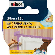 <b>Малярная лента</b> для деликатных поверхностей 25 мм 25 м в ...