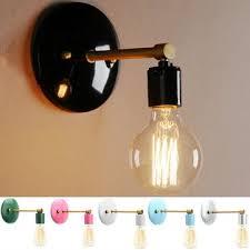 <b>loft industrial retro vintage</b> sconce wall lamp light bulb holder ...