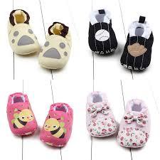 <b>Summer Infant Baby</b> Cotton Cartoon Crib <b>Shoes Baby</b> Anti-slip First ...