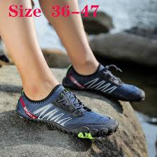 VANGOO New men's <b>outdoor</b> sports <b>upstream</b> shoes breathable five ...