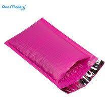 120*180mm/4*8 inch Purple Poly Bubble Mailers Padded ...