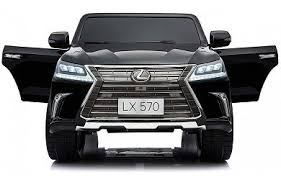 <b>Электромобиль Dake Lexus</b> LX570 Black 4WD MP4