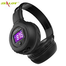 Zealot B570 <b>Wireless Bluetooth</b> Headphone Stereo Headset LCD ...