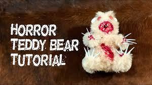 <b>Horror</b> Teddy Bear Tutorial Zombie Terror <b>Plush</b> - Dollar Store Prop ...