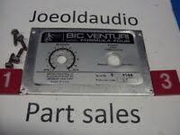 Vintage BIC Turntable <b>Base</b>-<b>Original</b>-940,960,980 Models- Solid ...