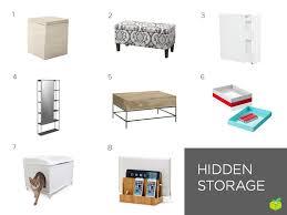 hidden storage apartment storage furniture