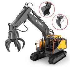 Double e <b>e568</b>-003 rc excavator <b>3</b> in <b>1</b> vehicle models engineer rc ...