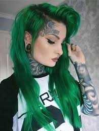 31 <b>Glamorous Green</b> Hairstyle Ideas (<b>2019</b> Update) | <b>Green</b> hair ...